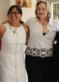 Irvine Commissioner Melissa Fox  with California State Controller candidate Betty Yee